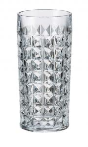 BOHEMIA Komplet 6 szklanek 260 ml DIAMOND