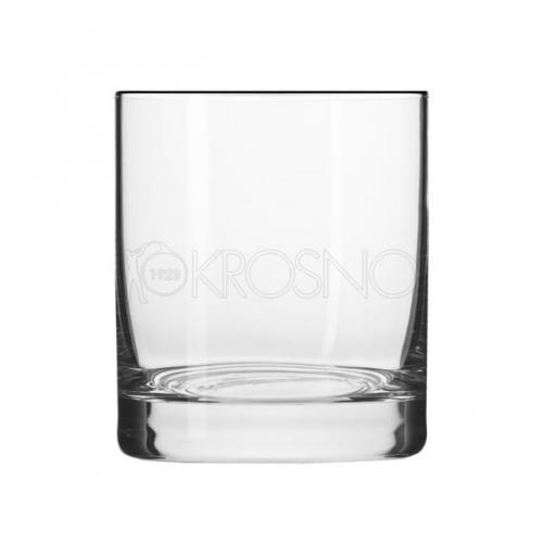 KROSNO Komplet 6 szklanek do whisky BASIC GLASS 250 ml