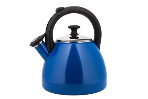 czajnik niebieski na gaz - Bokono