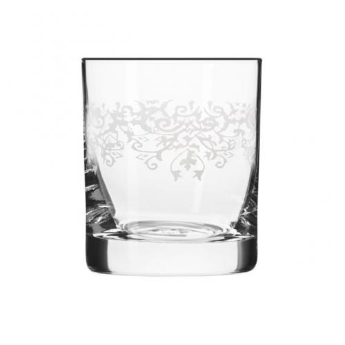 KROSNO Komplet 6 szklanek do whisky KRISTA deco 300 ml